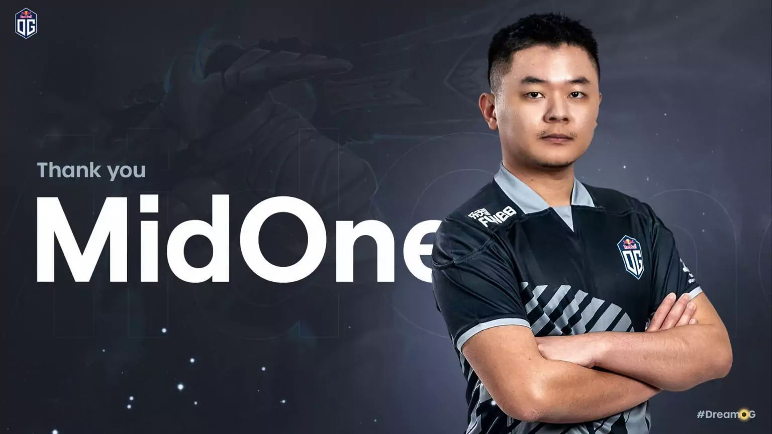 MidOne покинул состав OG по Dota 2