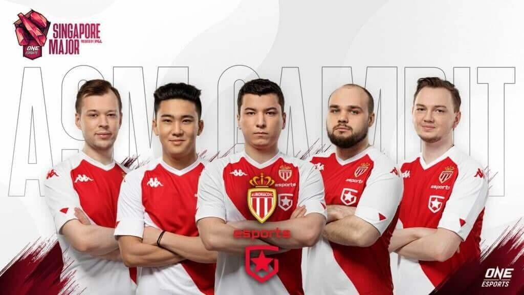 AS Monaco Gambit покидает Singapore Major