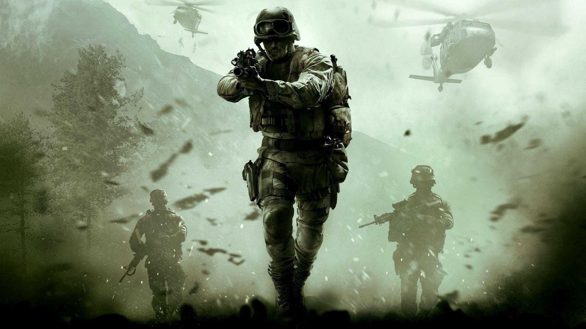 СМИ новая игра серии CoD будет на движке Modern Warfare