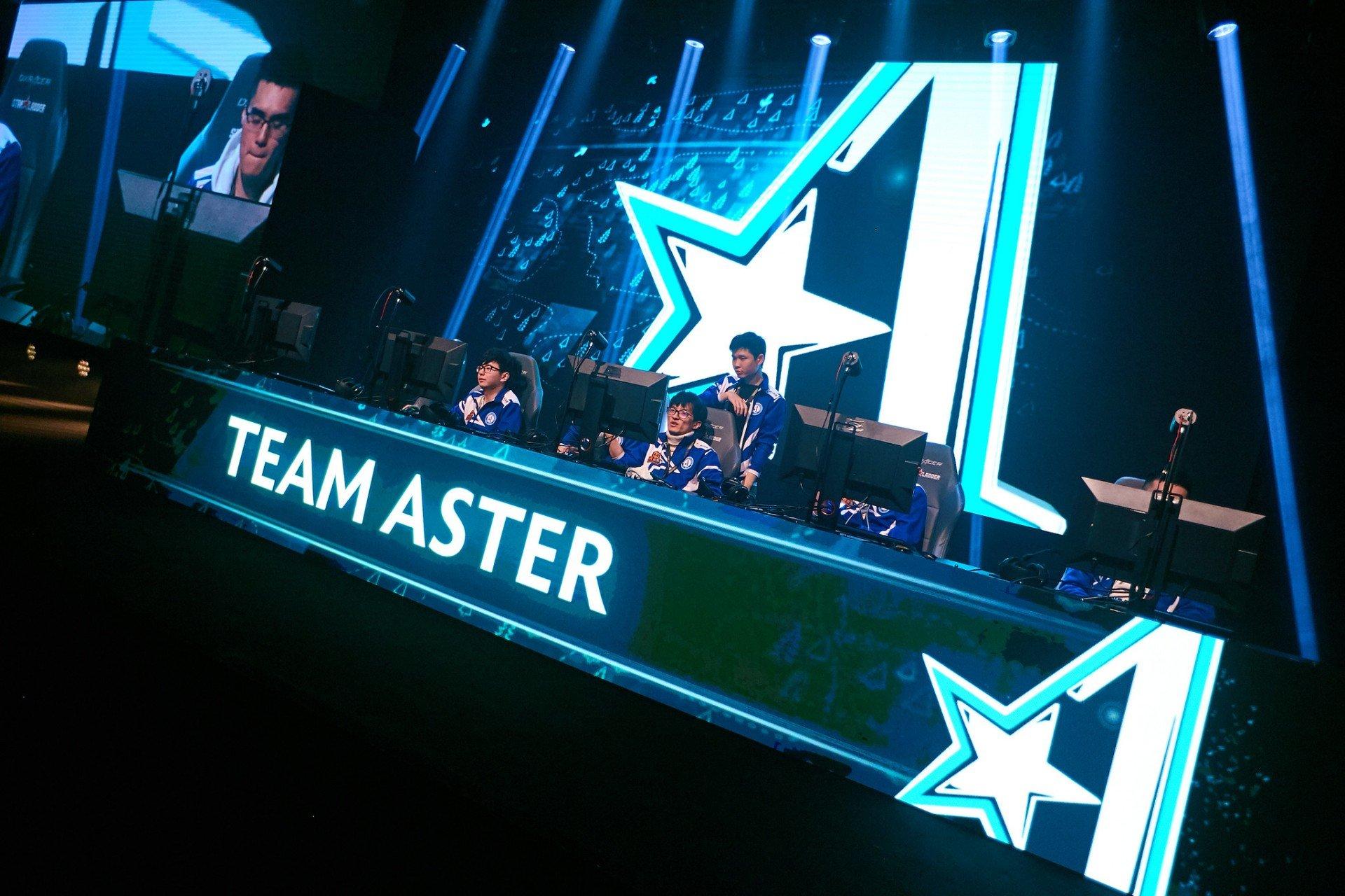 Team Aster проиграла Thunder Predator и вылетела с Major