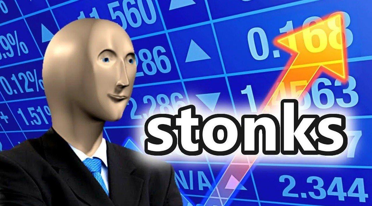 Адаптация мема Stonks появилась в Fortnite