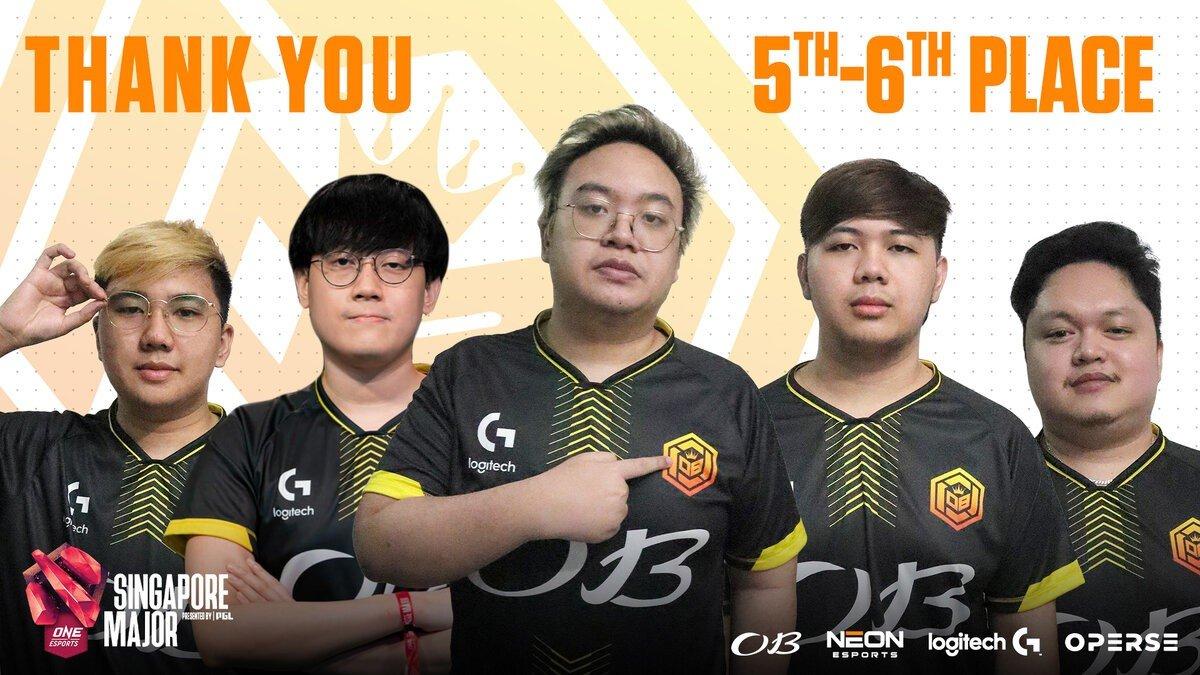 OB Esports x Neon Нашей главной целью было заявить о себе