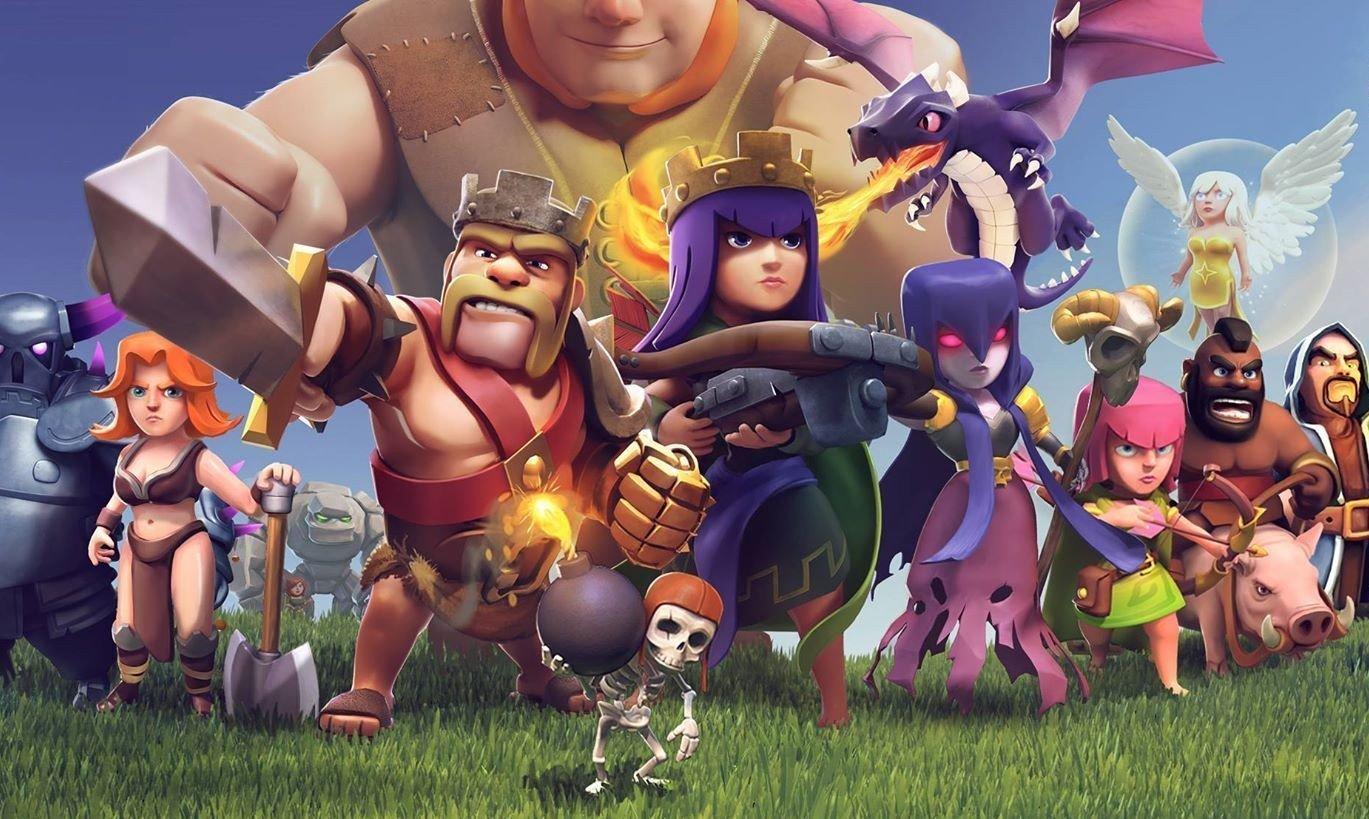 Во вселенной Clash of Clans появятся три новых игр