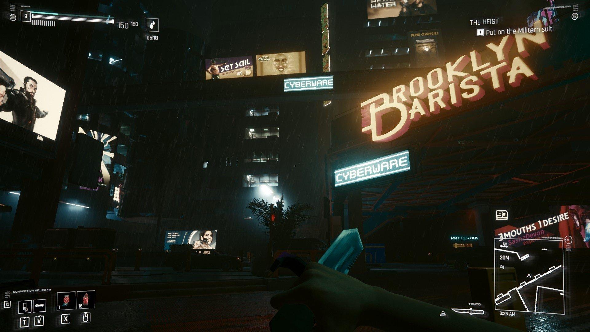 Атмосфера Cyberpunk 2077 стала схожей с Blade Runner