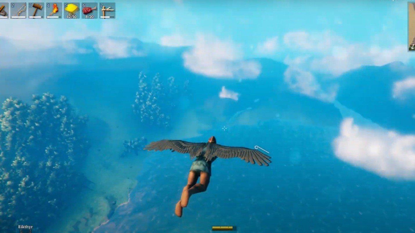 В Valheim появилась возможность полноценно летать