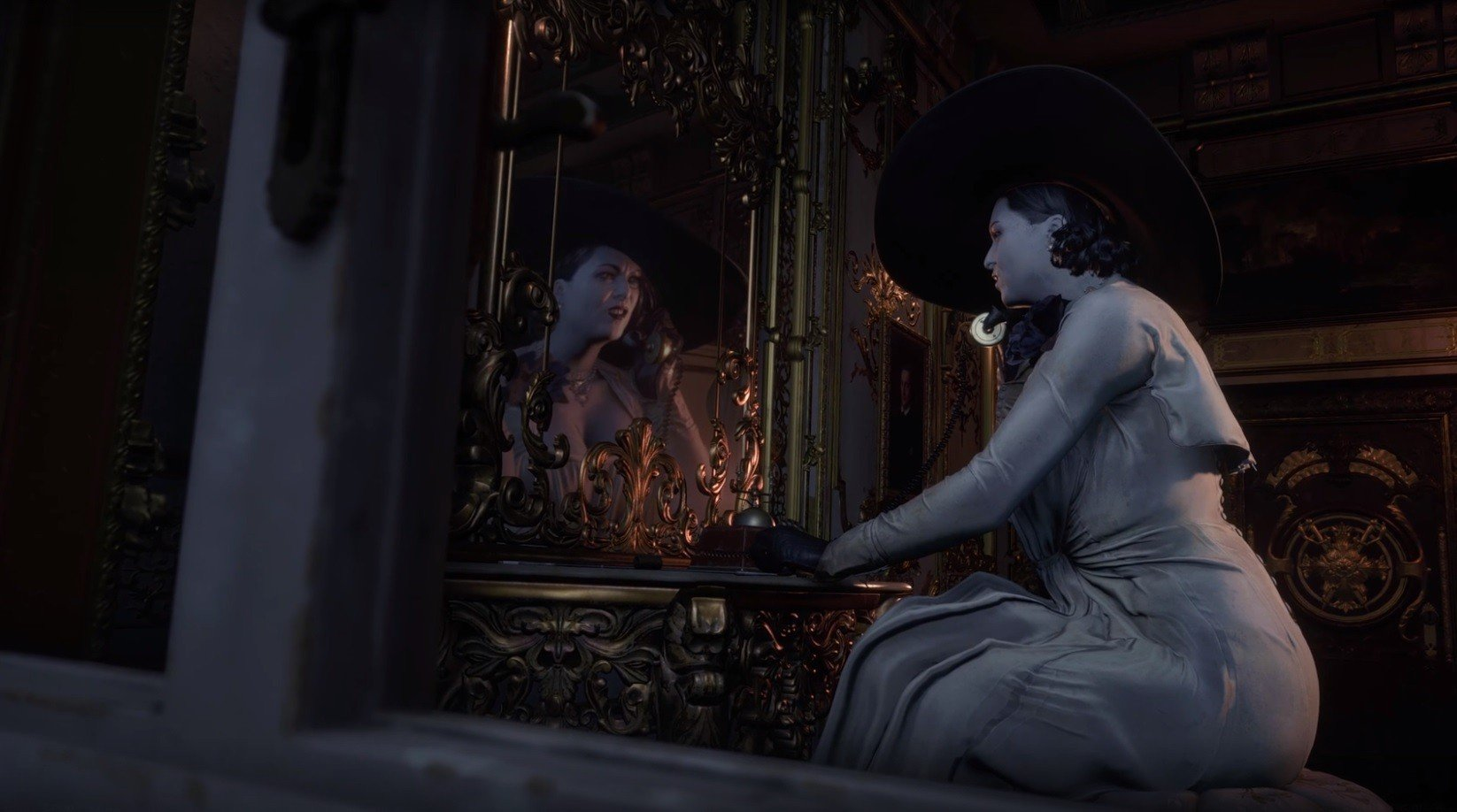 Разработчики RE Village рассказали про леди Димитреску