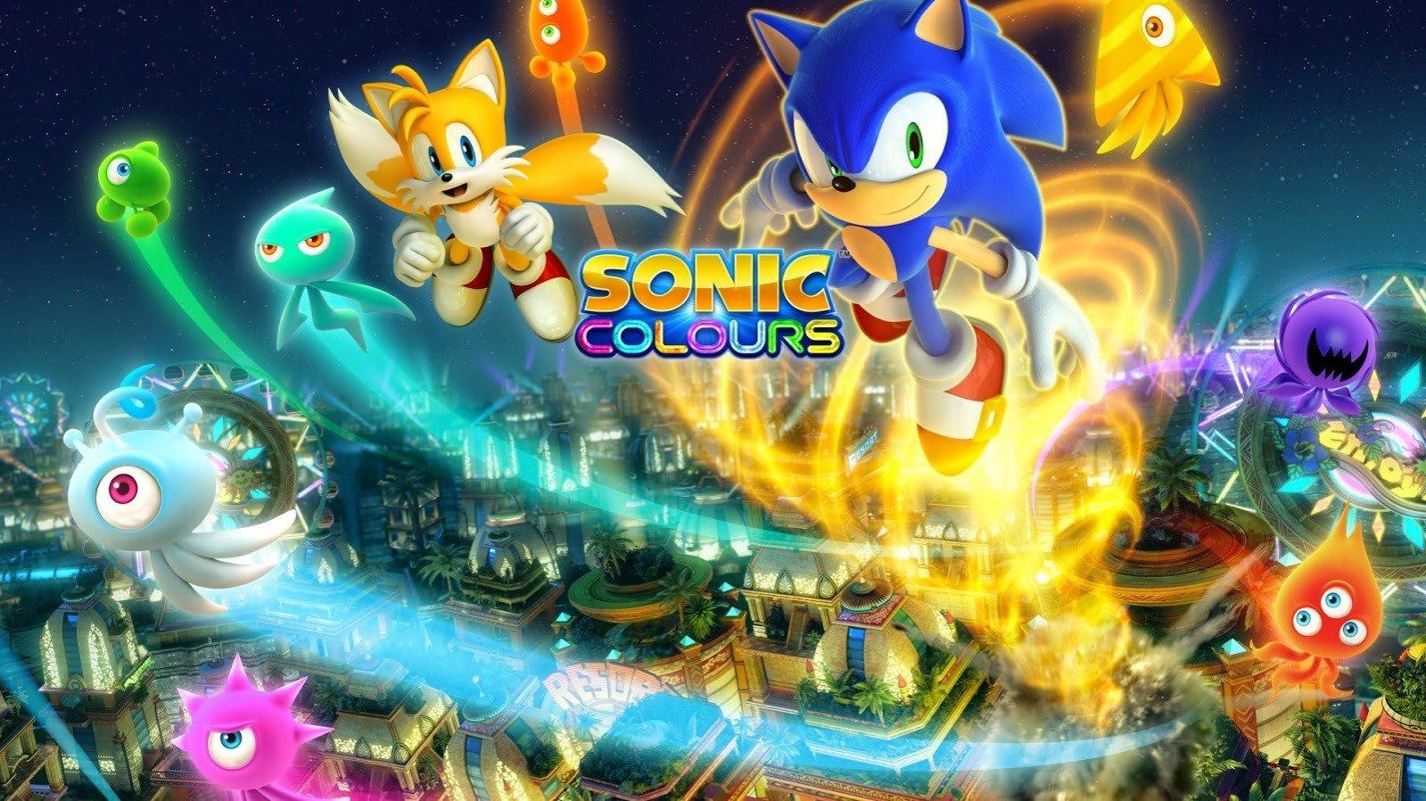 Ремастер Sonic Colors выйдет на PS4 Xbox One и Switch