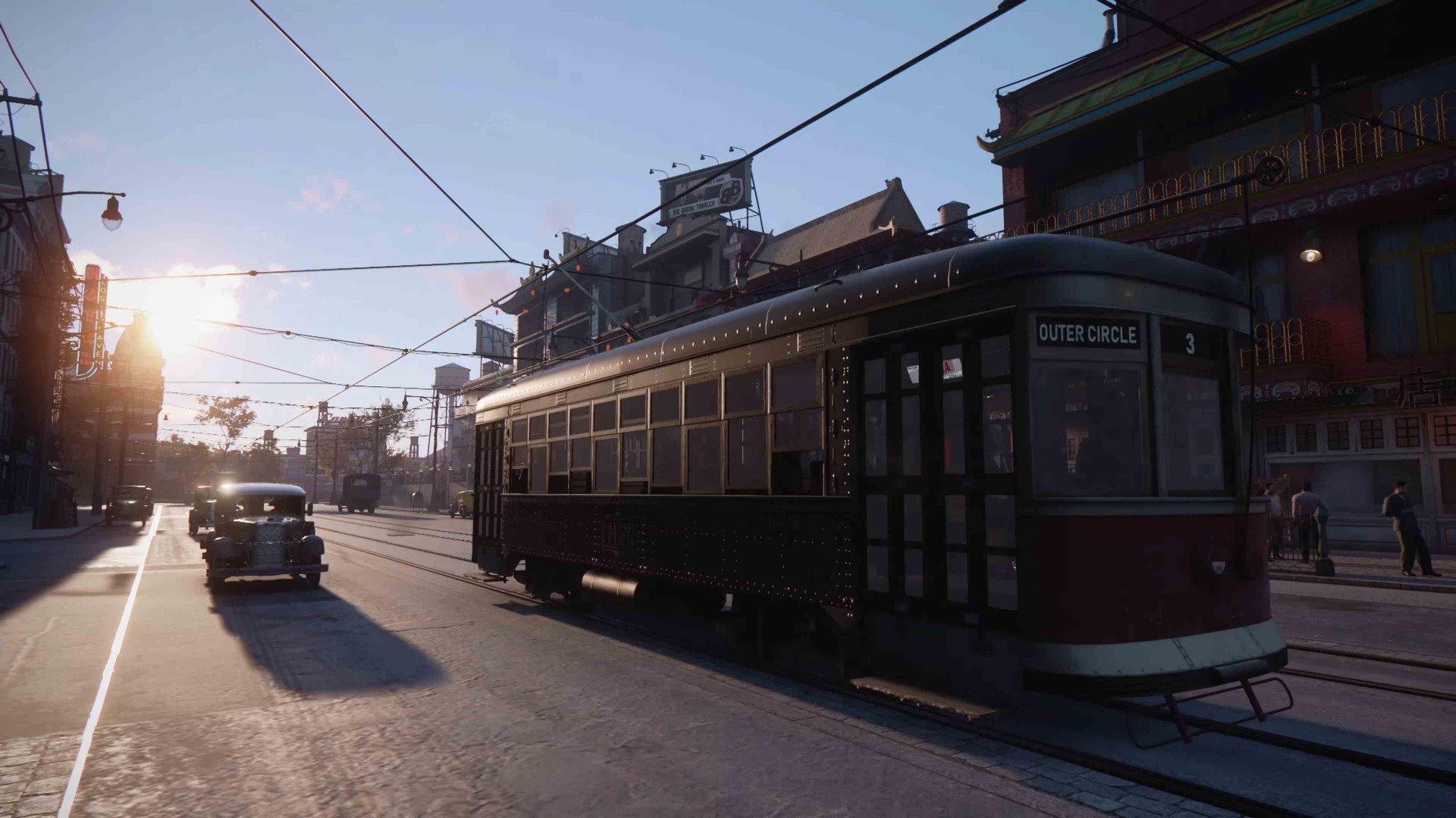 В Mafia Definitive Edition теперь можно ездить на трамваях
