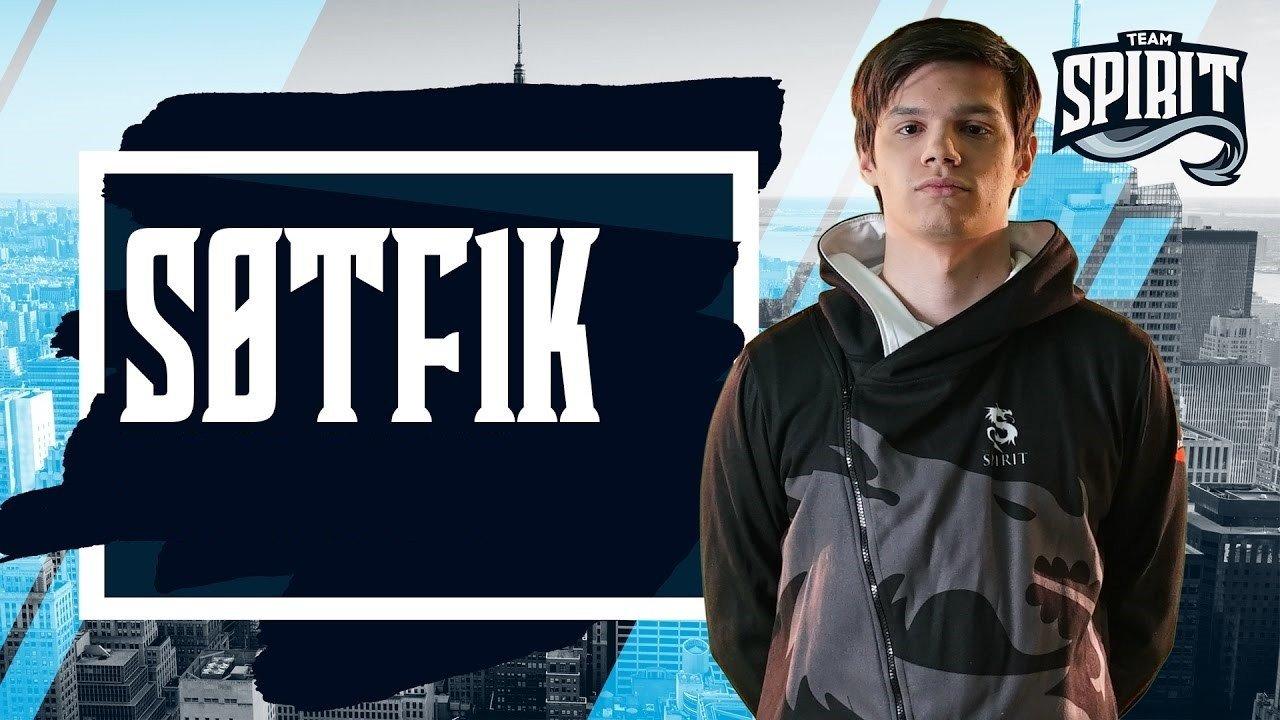 S0tF1k рассказал о работе вторым тренером в Team Spirit
