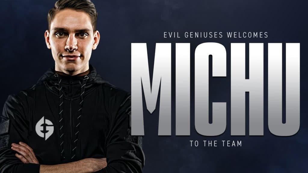 MICHU присоединился к Evil Geniuses заменив tarik