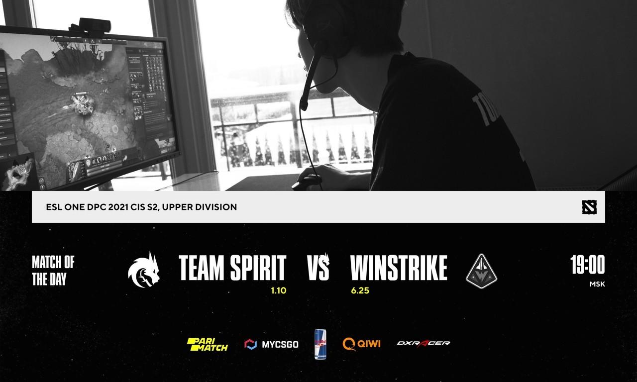 Team Spirit сыграет с Winstrike за первое место в группе