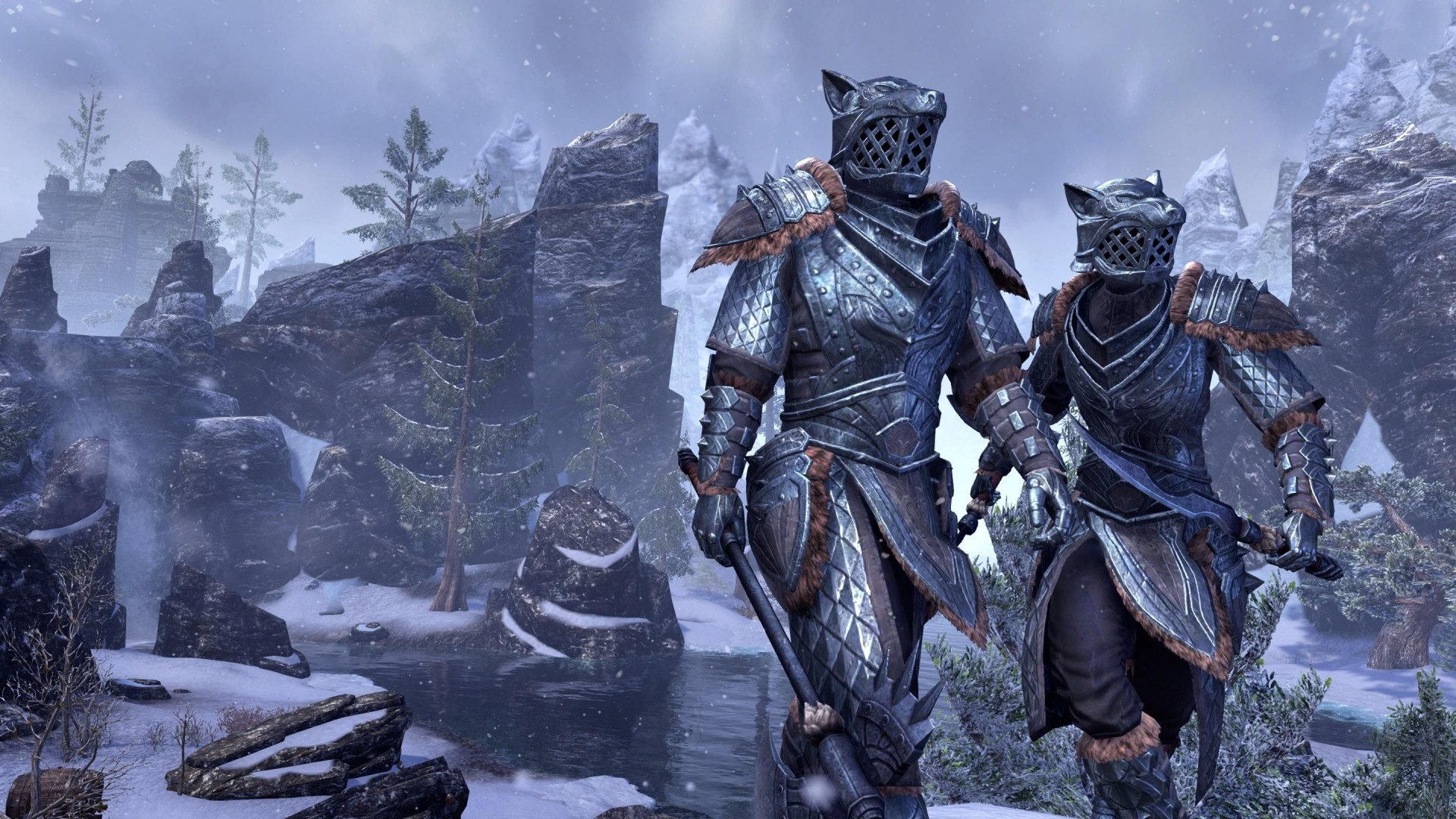 The Elder Scrolls Online на некстген версии будет работать в 4Кразрешении