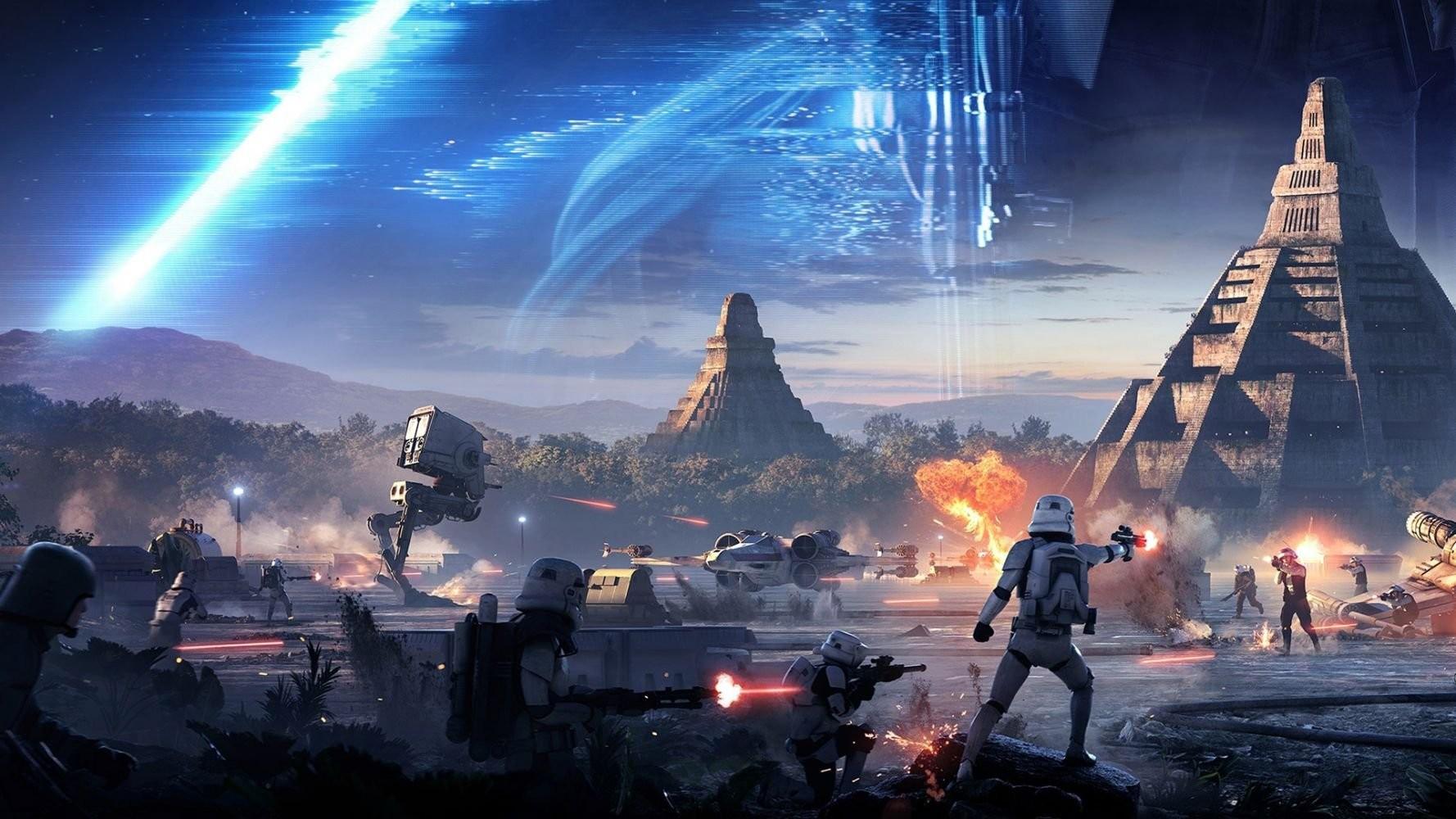 Начались распродажи игр вселенной Star Wars