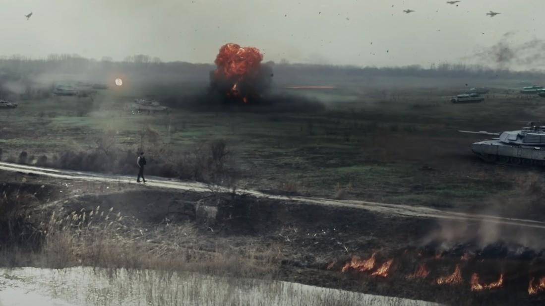 Моргенштерн выпустил клип с рекламой War Thunder