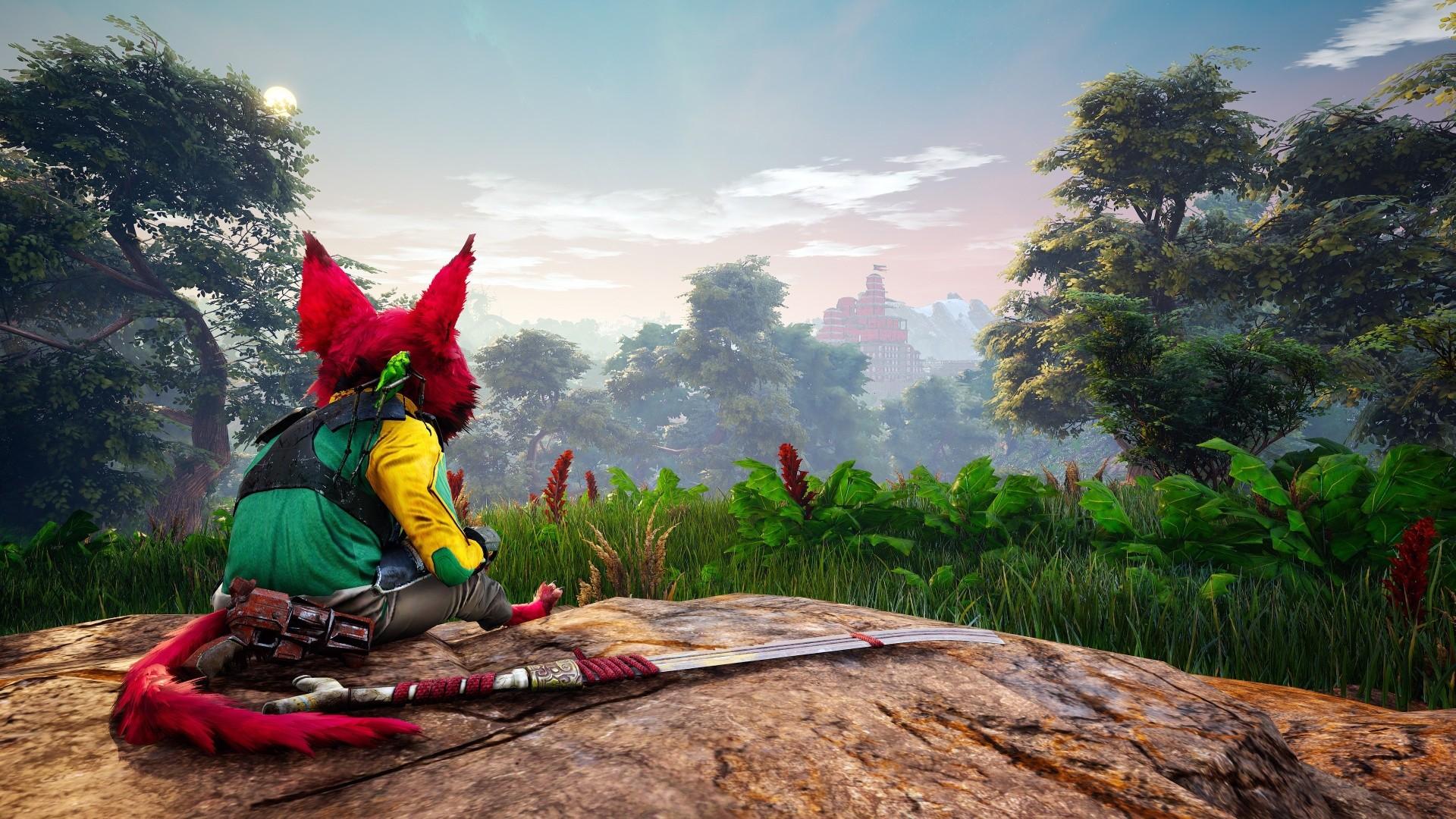 Разработчики Biomutant рассказали сколько займет прохождение игры
