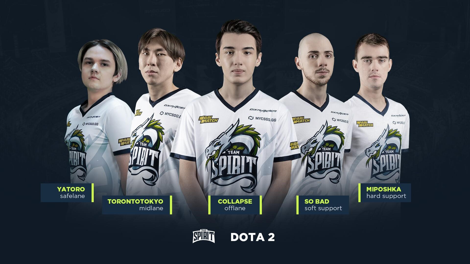 Team Spirit сравняла счет в серии с VP на DPCлиге для СНГ