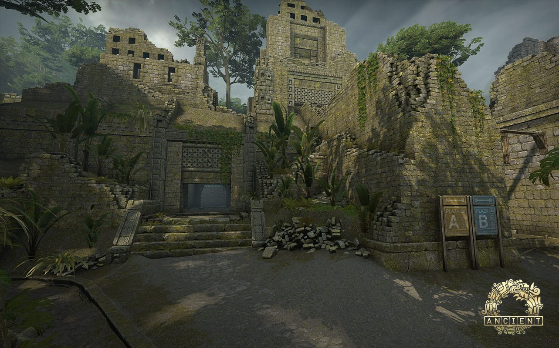 В CSGO обновили и оптимизировали карту Ancient