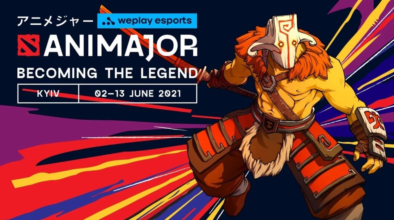 Стали известны даты начала всех этапов WePlay AniMajor