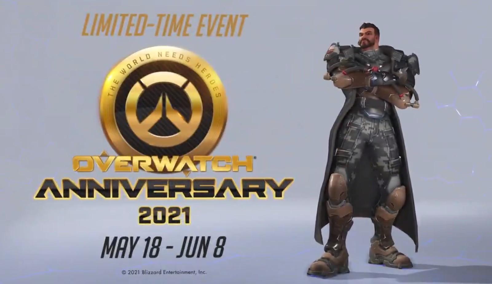 Разработчики Overwatch проведут событие в честь пятилетия игры