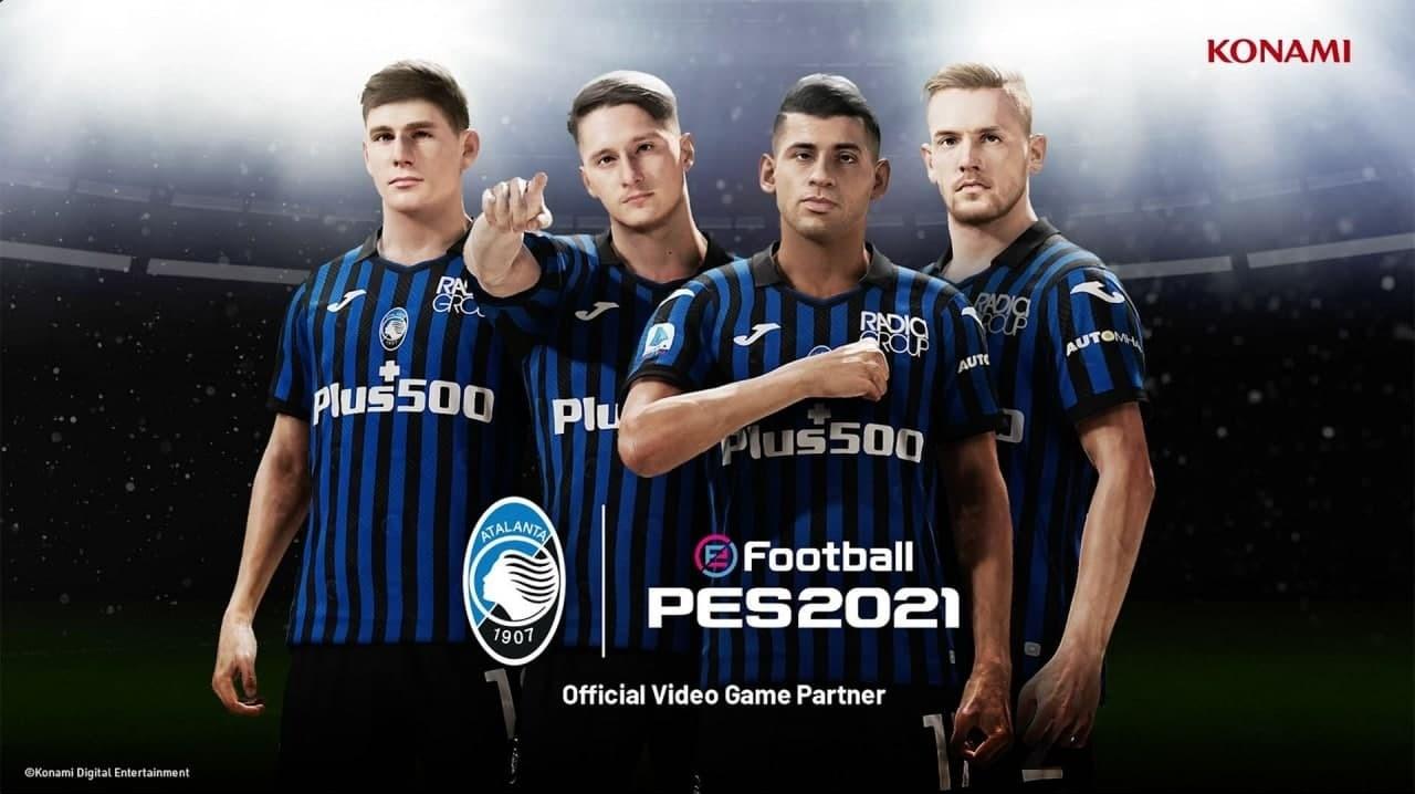 Итальянский футбольный клуб Atalanta стал партнером Pro Evolution Soccer