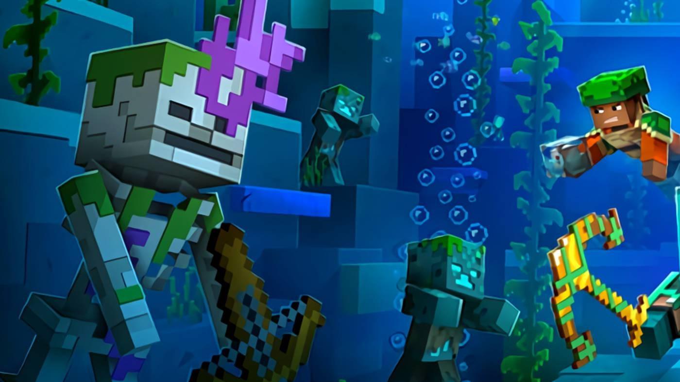 Вышел релизный трейлер Minecraft Dungeons Hidden Depths