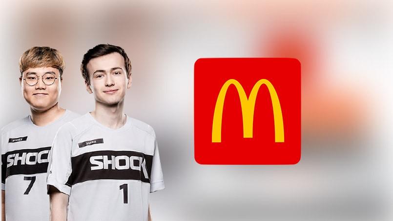 McDonalds стал партнером двукратных чемпионов мира по Overwatch