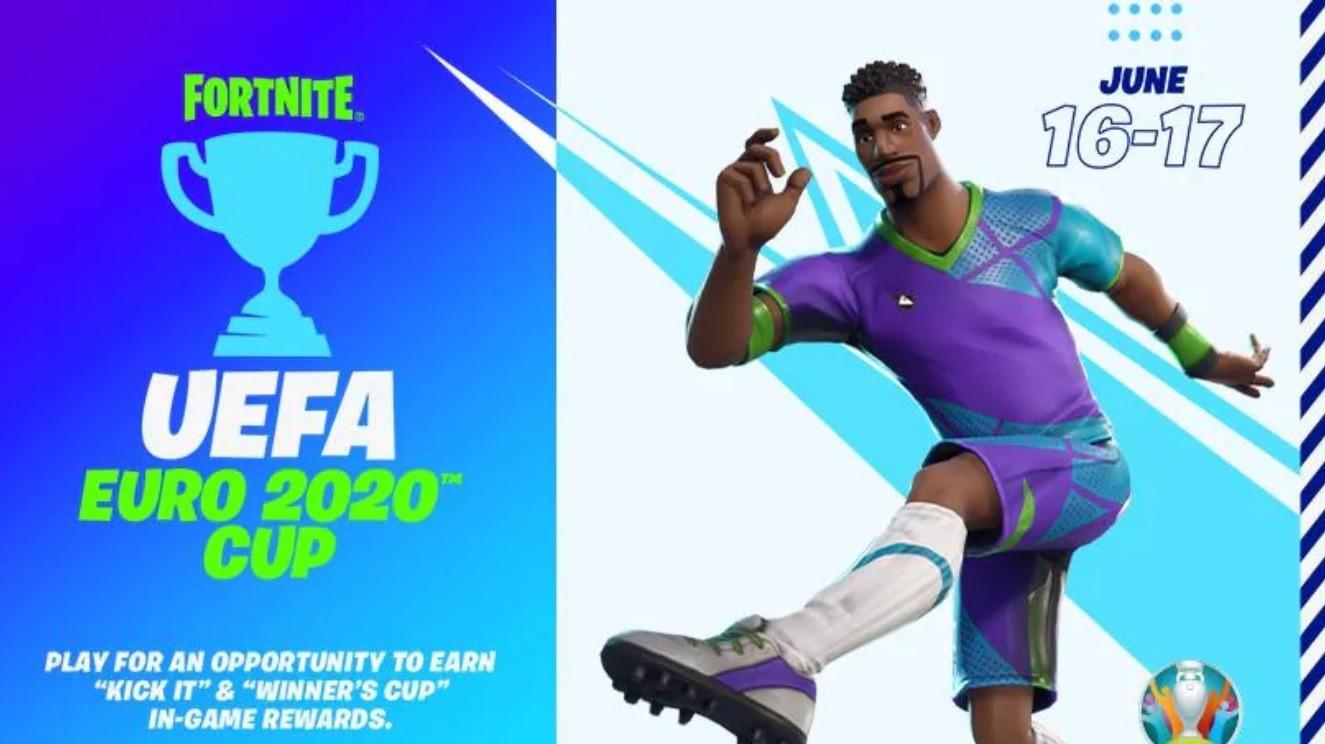 В Fortnite пройдет UEFA EURO 2020 Cup