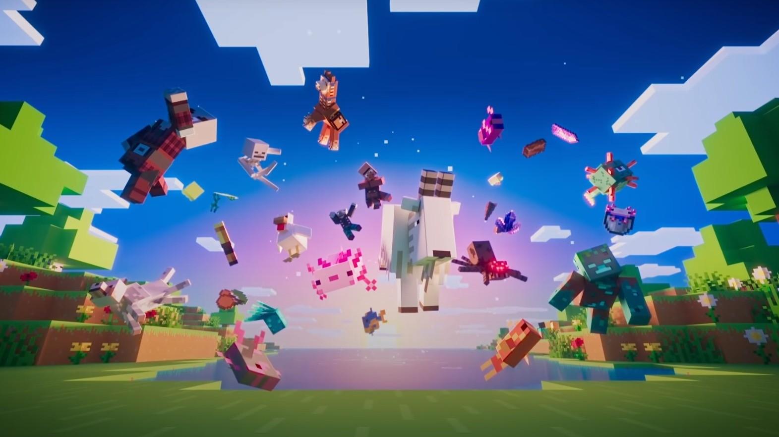 Я улыбался как ребенок когда увидел новый трейлер Minecraft создатели гении