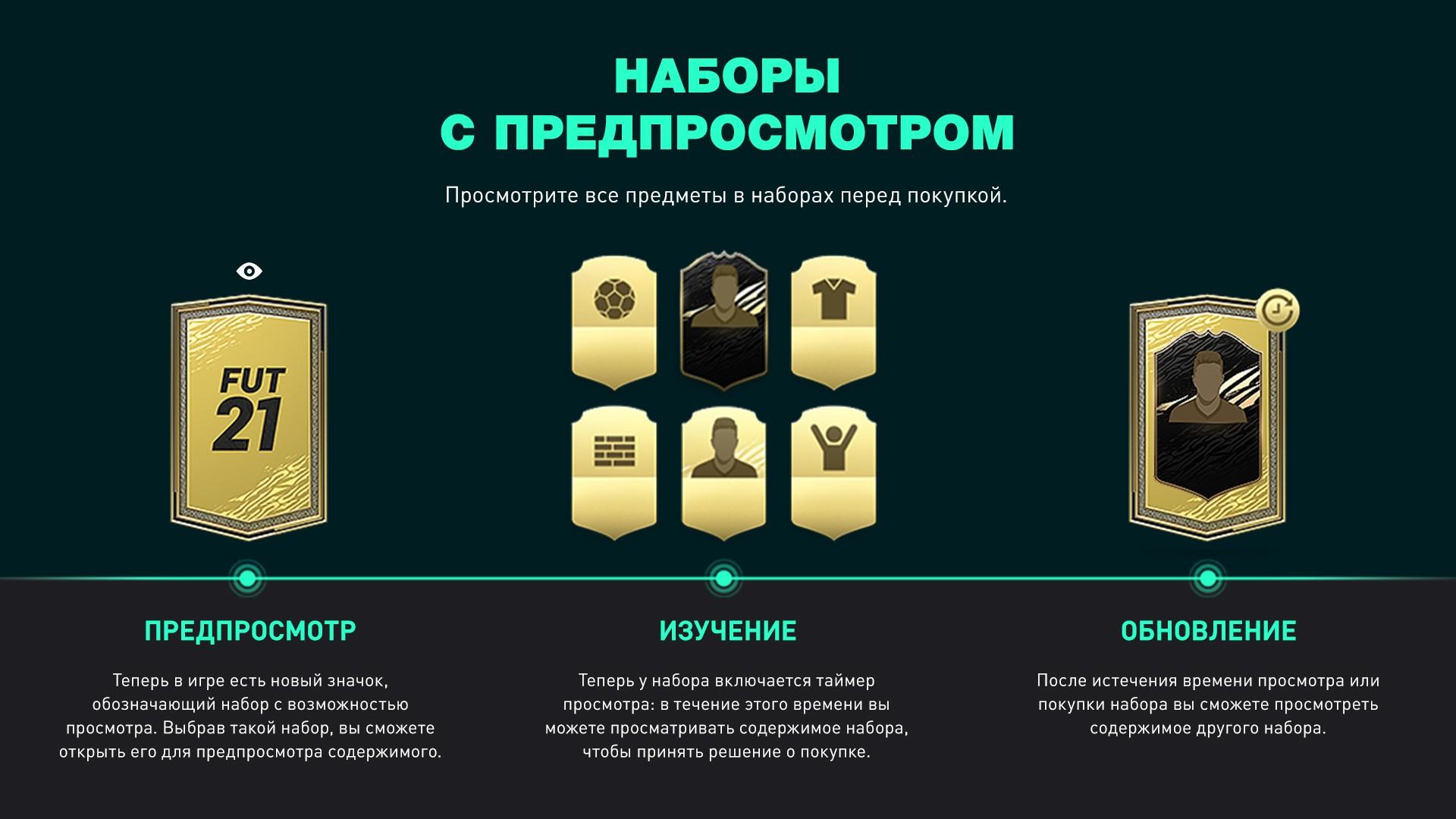 Анонсирован новый тип наборов для FIFA Ultimate Team