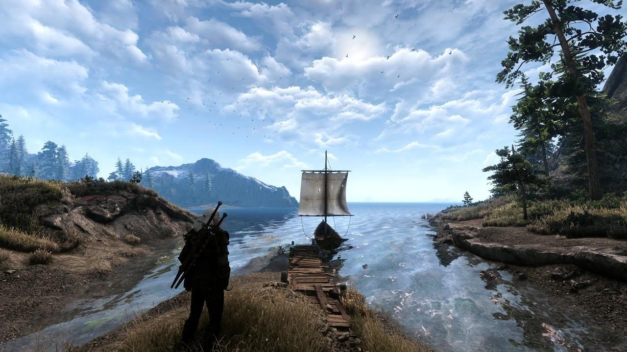 Фанат The Witcher 3 установил более 50 модов на игру и получил нечто прекрасное