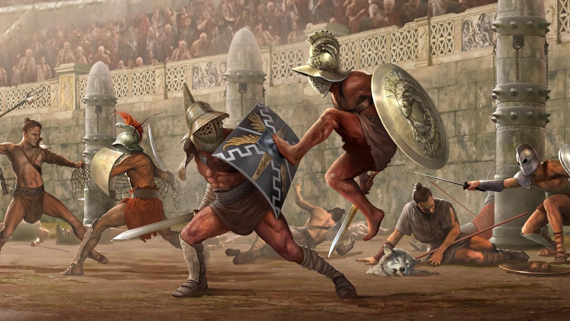 8 самых зрелищных игр про гладиаторов и гладиаторские бои