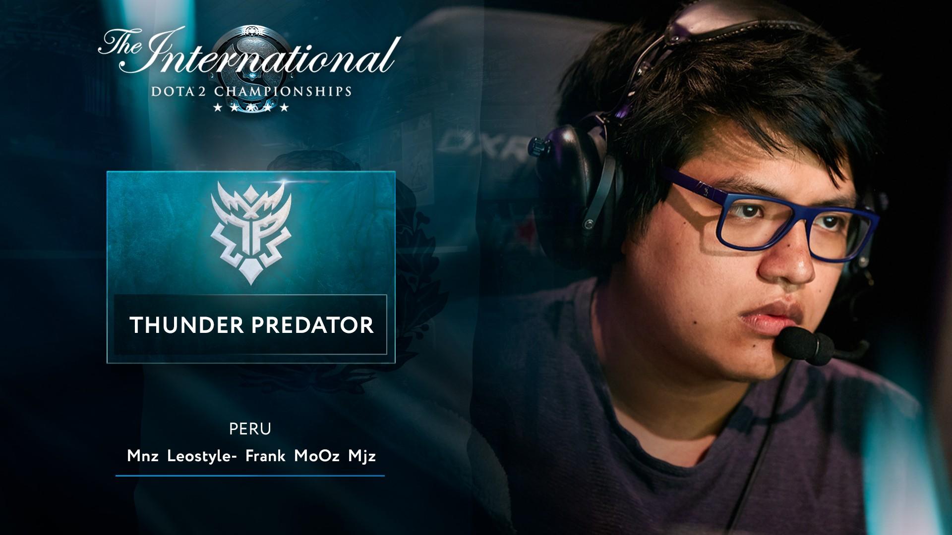 Путь на TI10 Thunder Predator