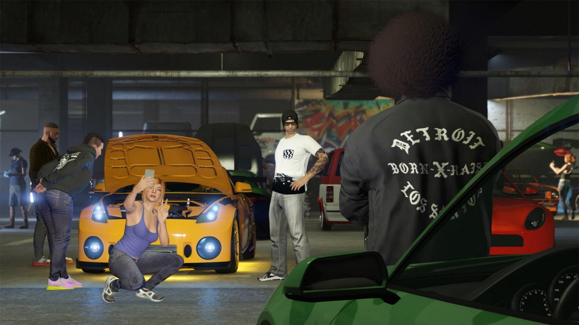 В GTA Online раздают внутриигровую валюту в честь рекордного успеха обновления Los Santos Tuners