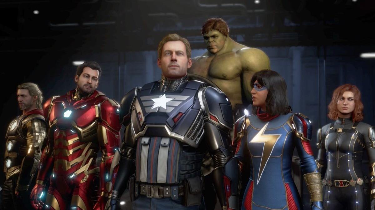 Игра Marvels Avengers станет временно бесплатной на следующей неделе