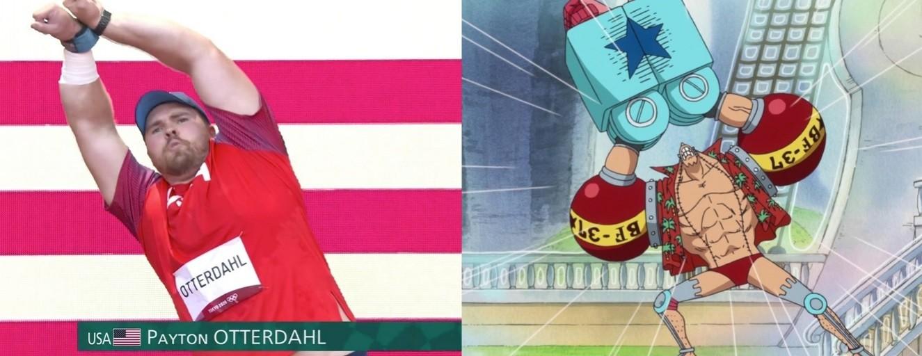 One Piece Final Fantasy и Ведьмак Отсылки к каким играм можно было увидеть и услышать на Олимпиаде