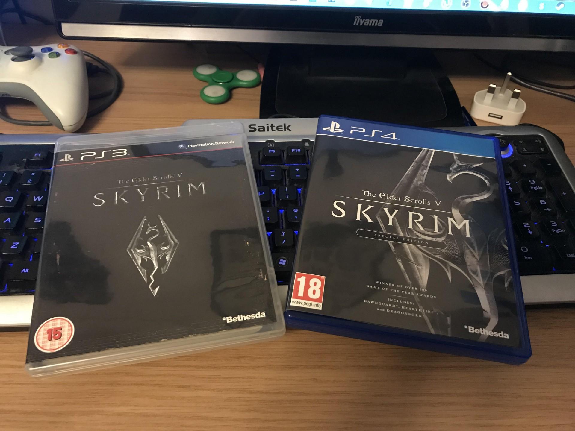 Выйдет юбилейное издание Skyrim в него войдут 500 модов