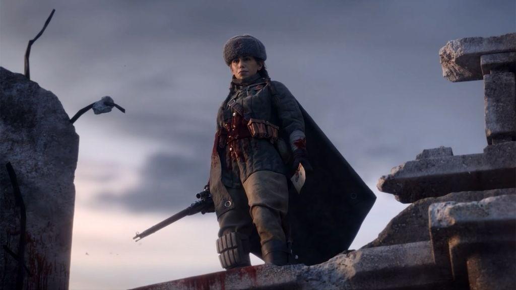 Авторы Call of Duty Vanguard показали начало кампании за Полину Петрову в Сталинграде