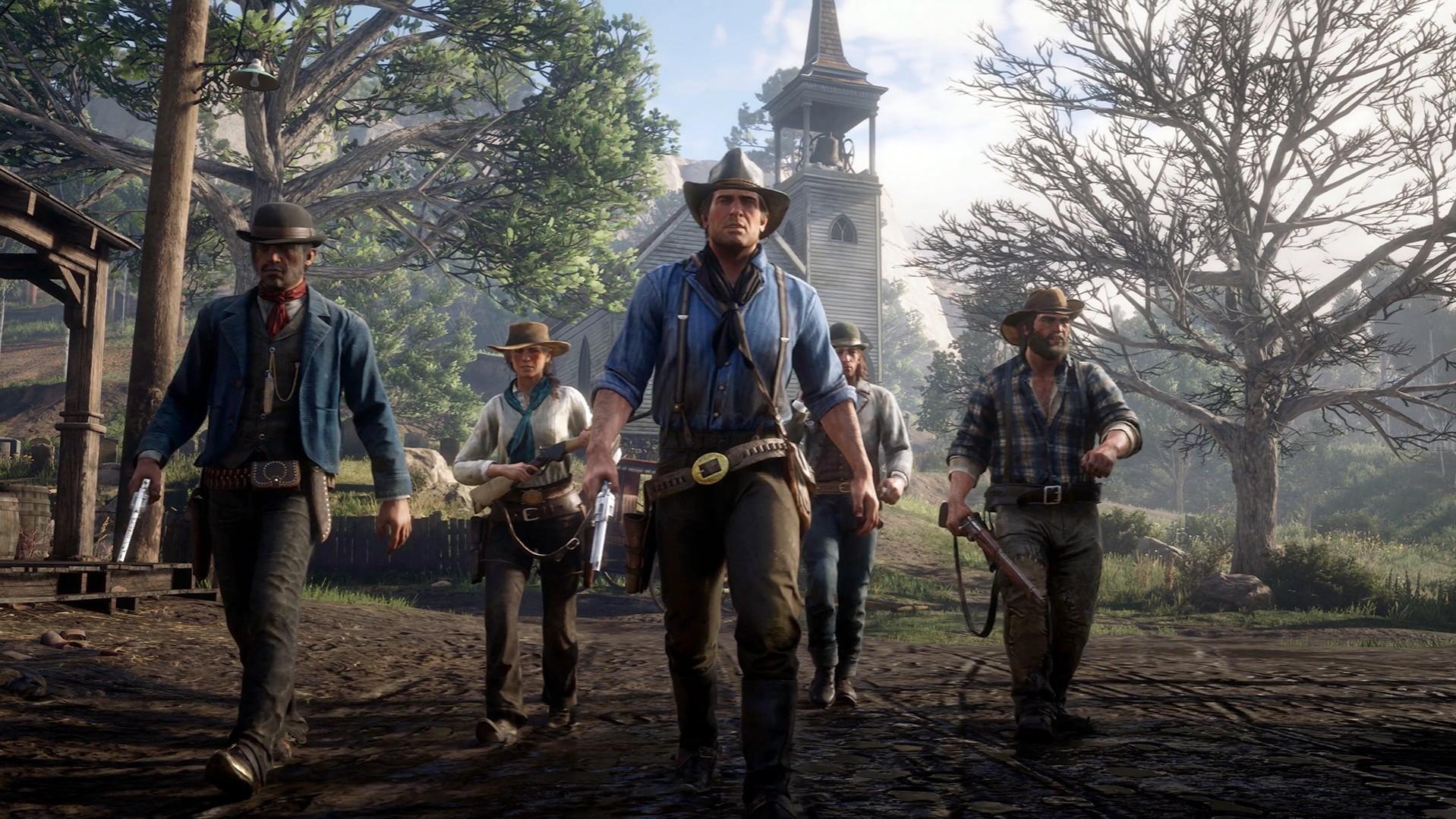 Локации Red Dead Redemption 2 и их реальные аналоги