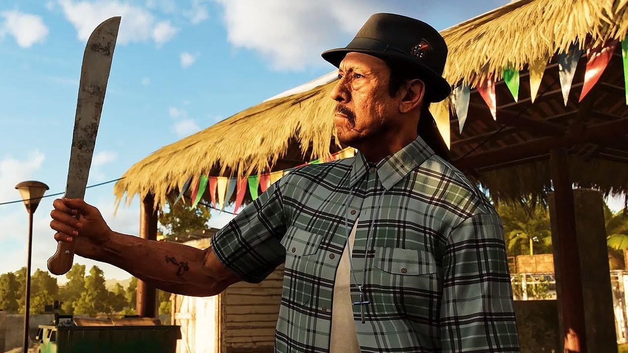 В новом геймплейном ролике Far Cry 6 засветился Дэнни Трехо звезда фильмов Мачете