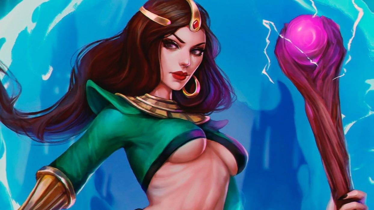 Художница показала сексуальную версию волшебницы из Diablo 2
