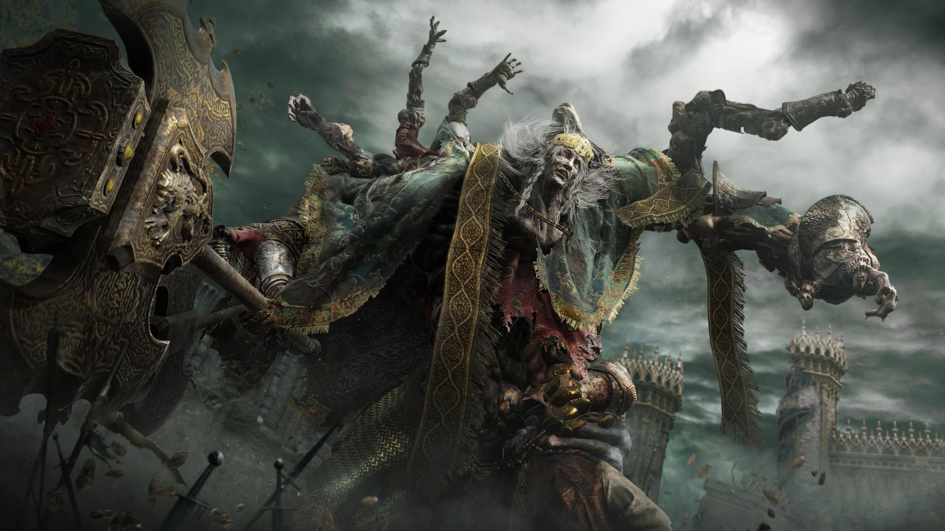 В Сеть слили новое геймплейное видео Elden Ring