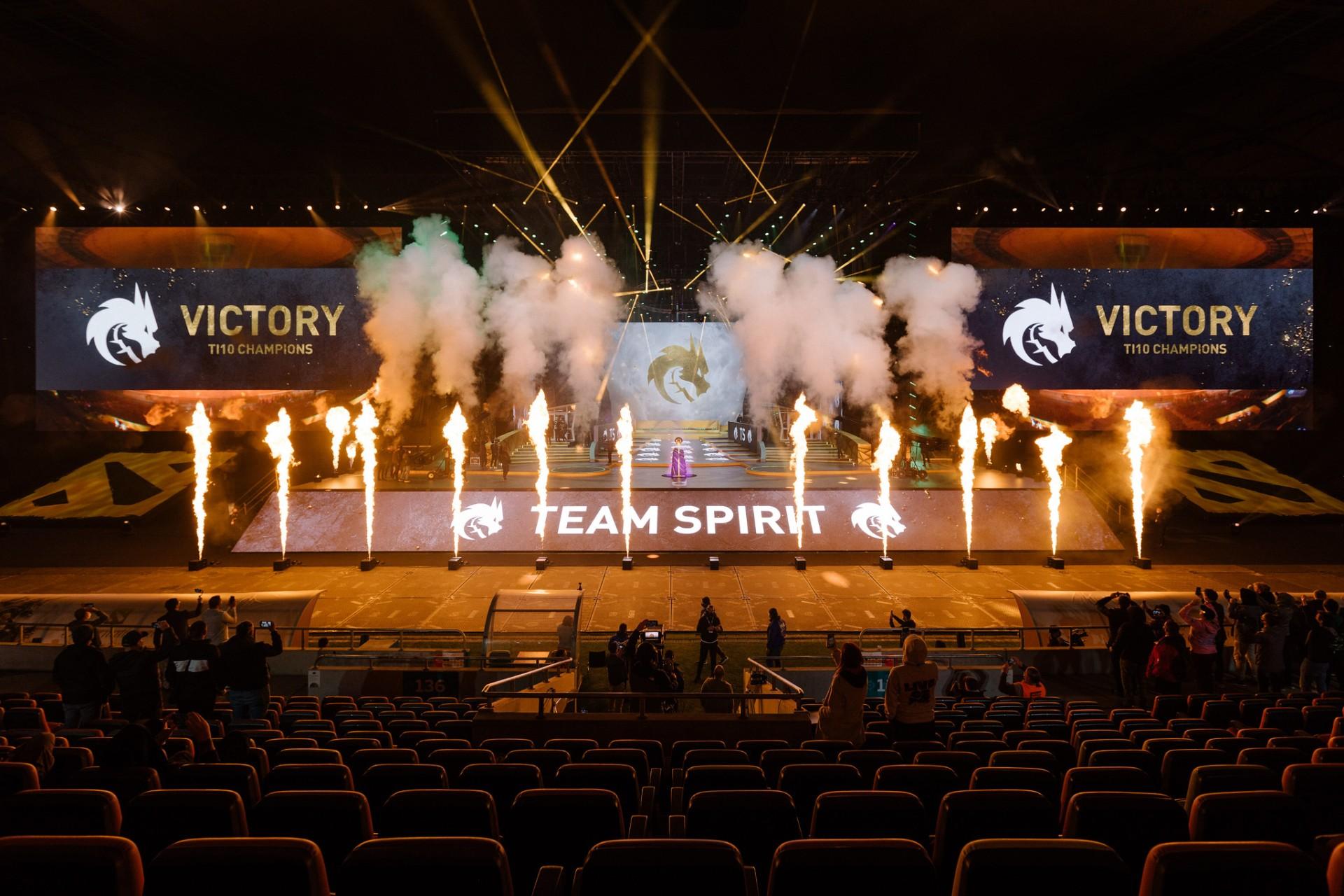 Порноактрисы спортсмены и даже президент Кто поздравил Team Spirit с победой на TI10