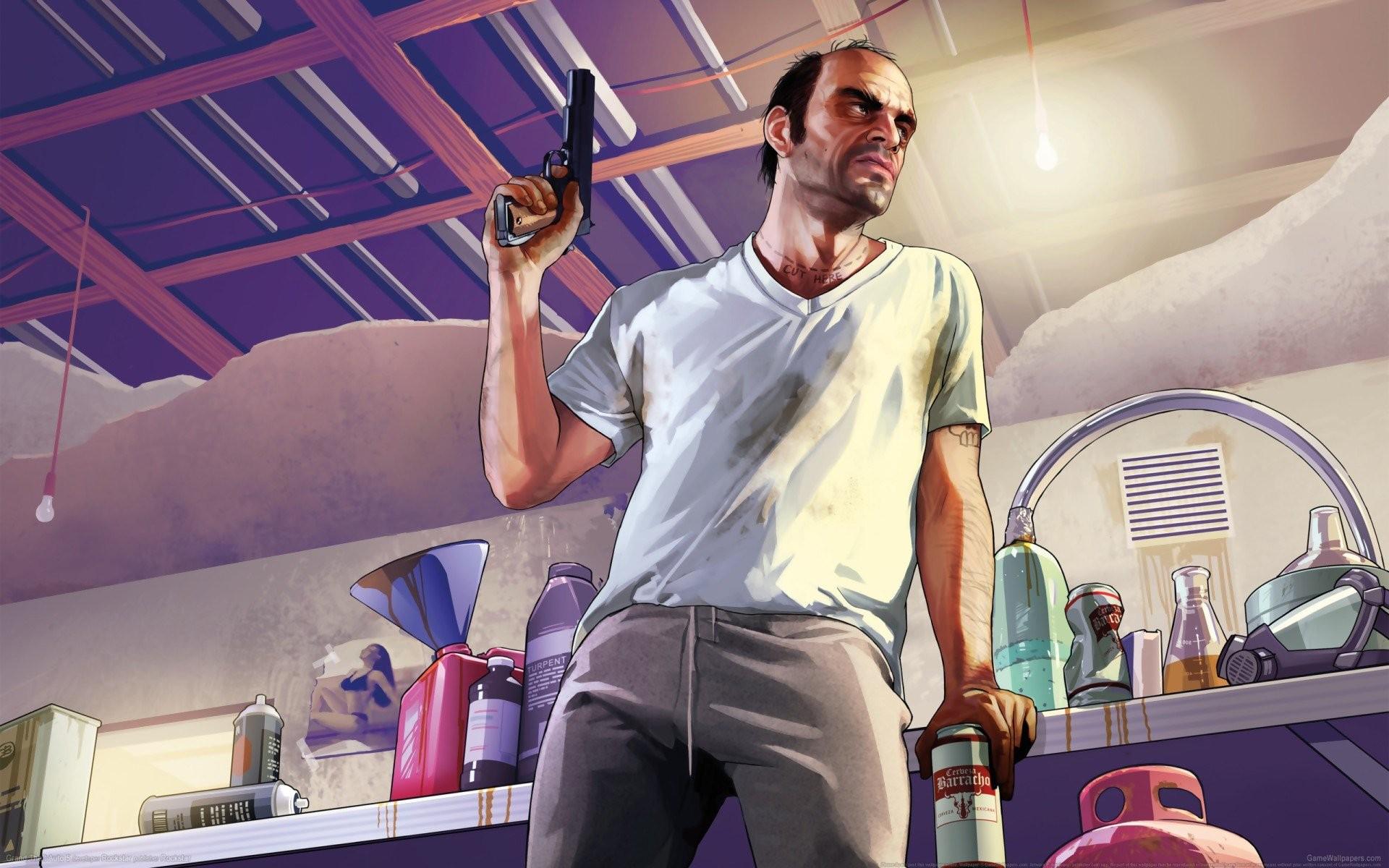 Топ5 самых крутых персонажей в GTA