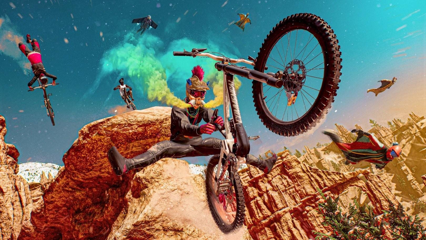 Радость для экстремалов геймплей Riders Republic на PS5 и суперкачестве