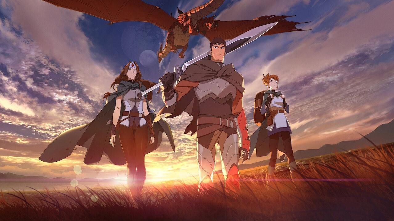 Видео трейлер второго сезона аниме DOTA Кровь дракона