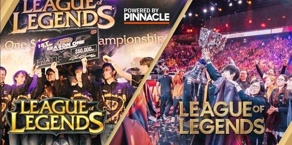 История соревновательной Лиги Легенд