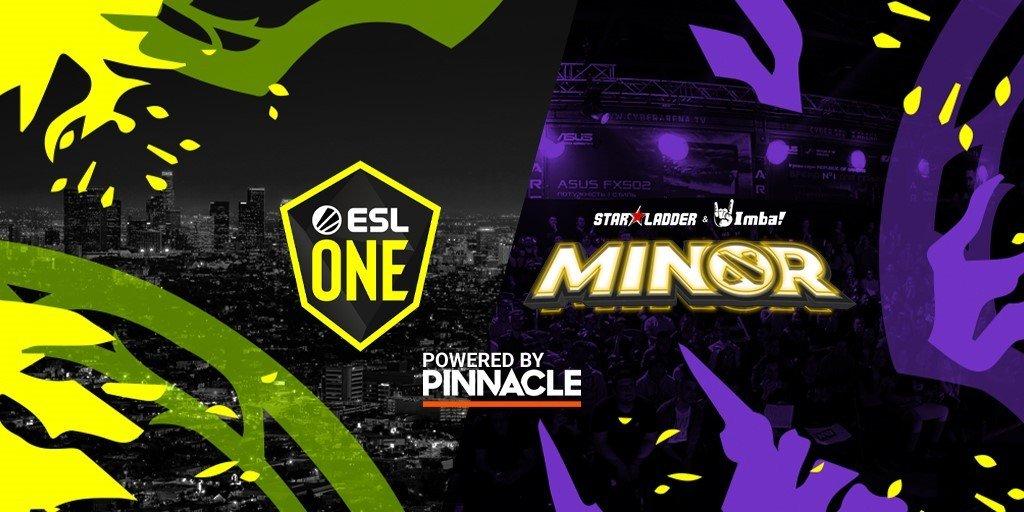 Прогнозы на грядущие ESL One Los Angeles Major и StarLadder Minor
