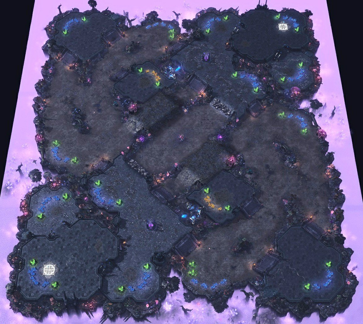 Изменения пула карт в 4 соревновательном сезоне StarCraft II