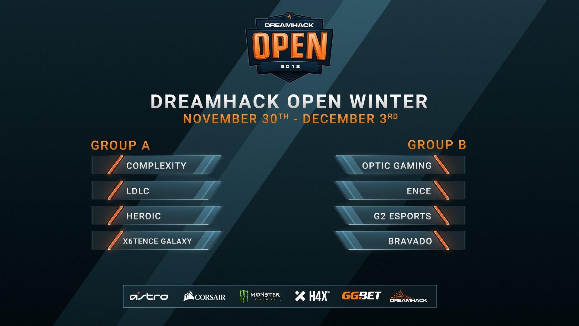 DreamHack Open Winter 2018 на кого ставить