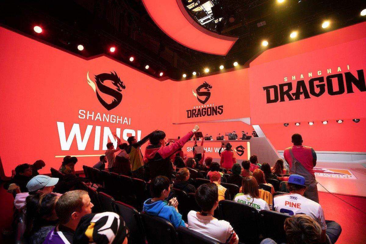Shanghai Dragons прервали свой лузстрик длинной в 42 поражения